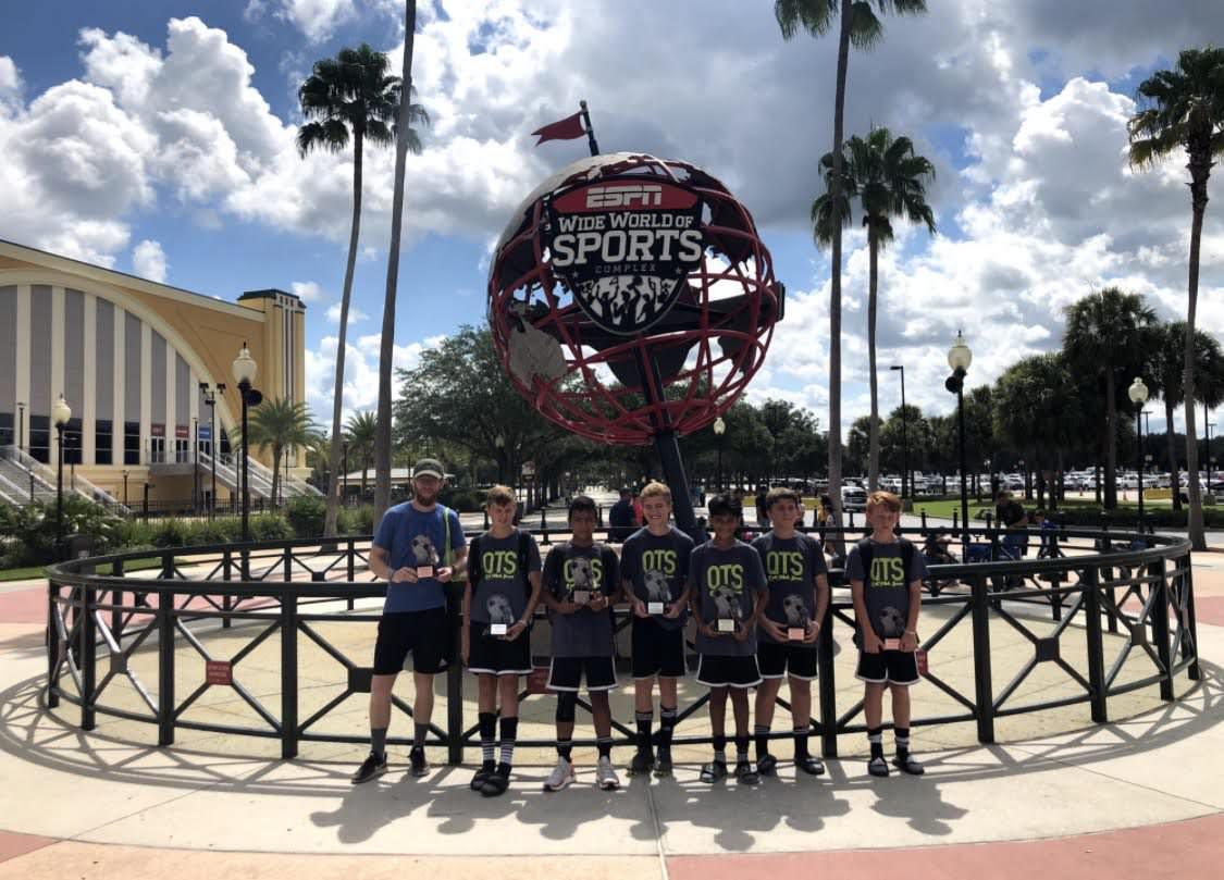 Quik Touch Soccer at Disney
