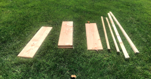 Materials for soccer wall